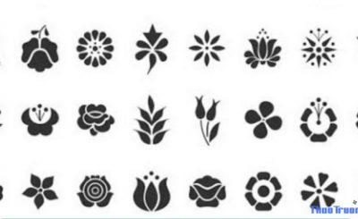 kí tự đặc biệt bông hoa