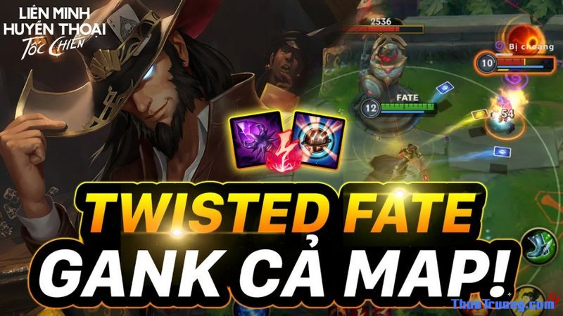 Twisted Fate tốc chiến