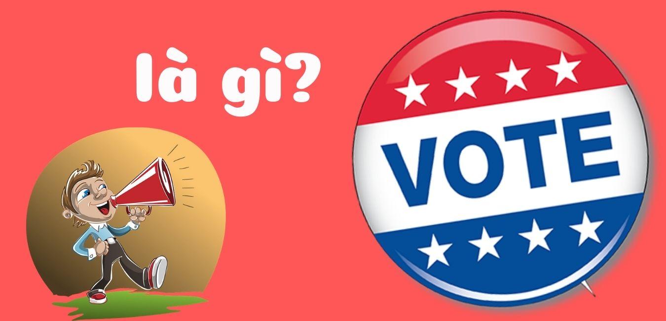 vote là gì